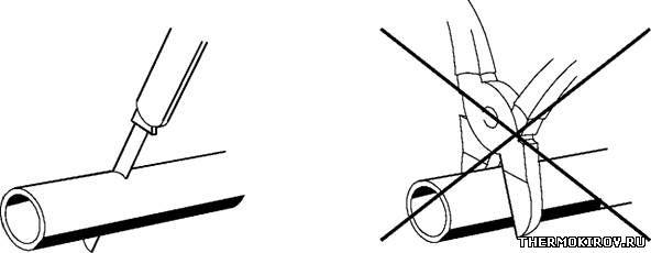 отопитель планар отрезка трубопровода