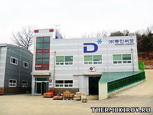 Производственное здание компании «Dong In Thermo»